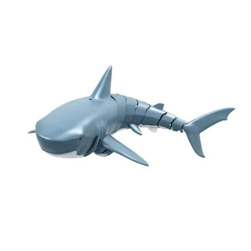 Lihgfw Elektrische Fernbedienung Shark Kinder Spielzeug Boy Auto Spielzeug eignet Sich für Kinder über 2 Jahre alt Geburtstagsgeschenk Spielen im Wasser Ask Tank Spielzeug 34 cm (Color : Blau)
