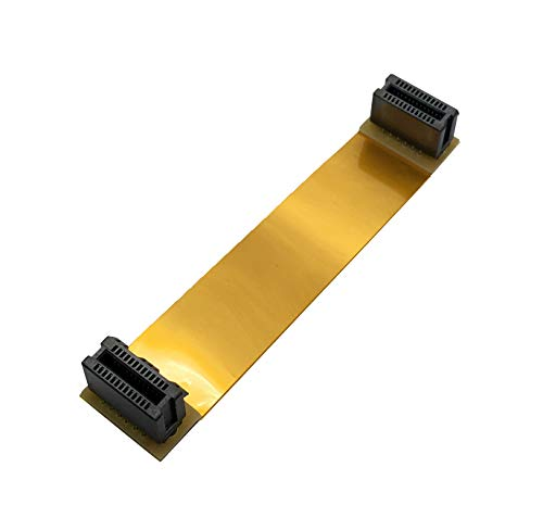 EZDIY-FAB Nvidia SLI Flexible Cable 100mm Long,Compatible with Asus VGA Video Graphics Card Bridge