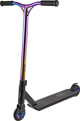 BLAZERPRO Complete Scooter Outrun Monopatín Hockey y Patinaje sobre Ruedas Infantil, Juventud Unisex, Multicolor(Neo Chrome), 500