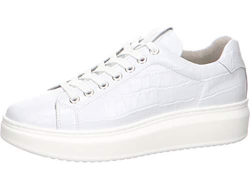 Tamaris Damen 23775-34 Sneaker, Weiß, 38 EU