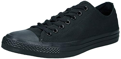 Converse Chuck Taylor All Star, Unisex - Erwachsene Sneaker, Schwarz (Monocrom), 42 EU