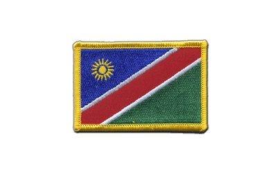 Aufnäher Patch Flagge Namibia - 8 x 6 cm