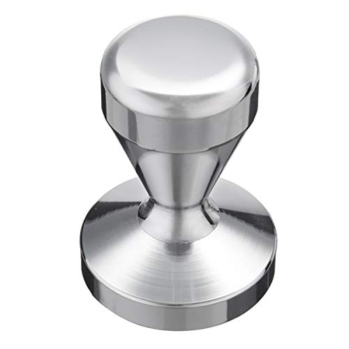 Wchaoen 58 mm acero inoxidable café exprés pisón Barista Press Stamper base...