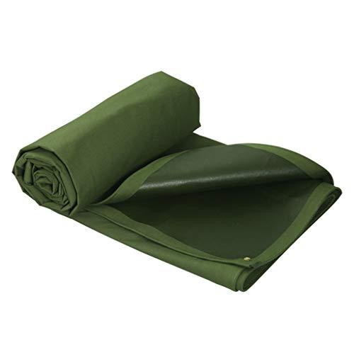 LQq-Bâches Extérieur Bâche pluie Shade imperméable Sun crème solaire coupe-vent double face couche imperméable Camion Couverture Cargo Tissu PVC pour le camping en plein air (taille : 7X5M)