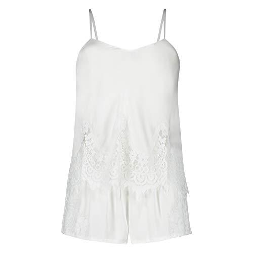 HUNKEMÖLLER Pyjamaset Bridal Weiß M