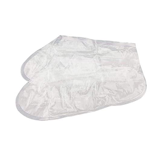 DOITOOL 10 sacos de calos para descamação dos pés e removedor de pele morta com fragrância de lavanda esfoliante para alisar os pés e reparar odores nos pés