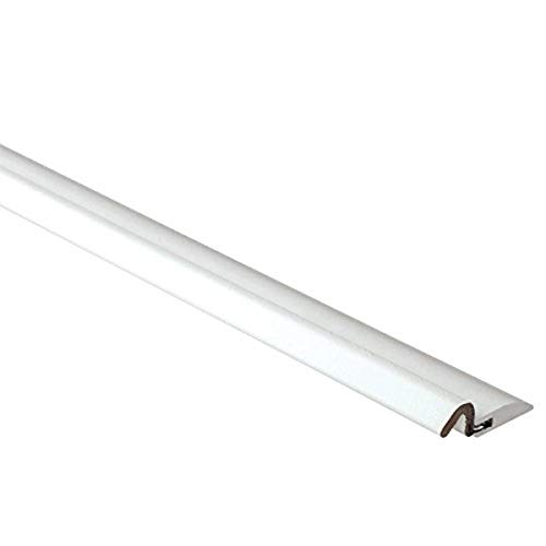 """AM Conservation Group DS060N-W PVC Nail Door weatherstrip, 7/8"""", White"""