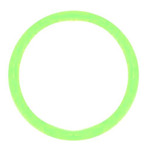 ボディピアス 00G メンズ ゴム製 ラバー ゴムキャッチ 工業用ゴム ピアス パーツ オイルシール カラーOリング (カラー) グリーン 止め具 留め具 単品