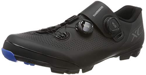 SHIMANO Zapatillas Sh M MTB Xc7 Negro, Scarpe da Ciclismo Uomo, Nero (Nero 000), 41 EU