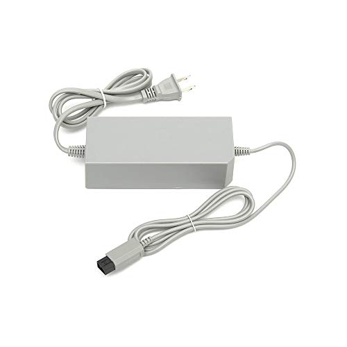 WiCareYo Power Supply Adapter Charger US Plug Power Adapter Cable for Wii Console System
