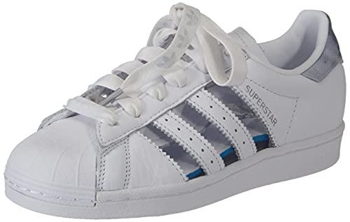 adidas Superstar W, Zapatillas Deportivas Mujer, FTWR White Grey Three FTWR White, 36 2/3 EU