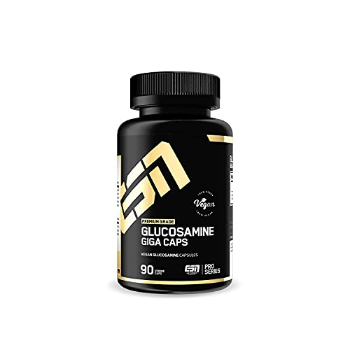 ESN Glucosamine Giga Caps, 90 Kapseln, Glucosamin hochdosiert