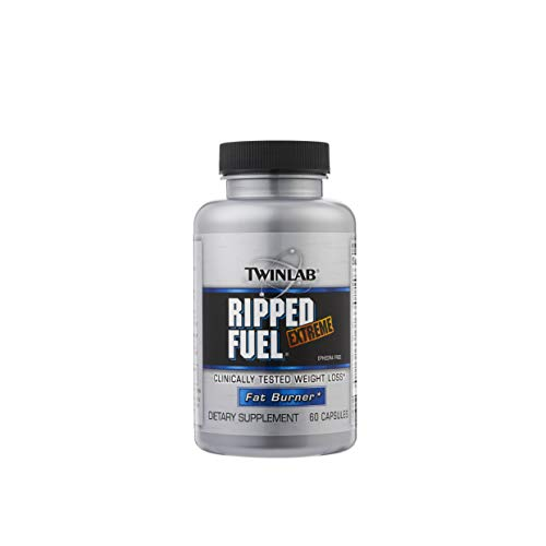 Twinlab Ripped Fuel Extreme Dietary Supplement for Weight Loss - 60 Capsules
