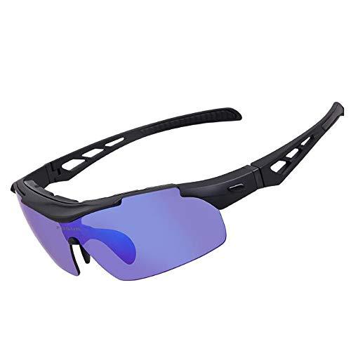 Wuxingqing sportbril voor mannen, geschikt voor fietsen, baseball, vissen, skiloppen, sportzonnebrillen, mannen en vrouwen tijdens het fietsen van brillen en sporten