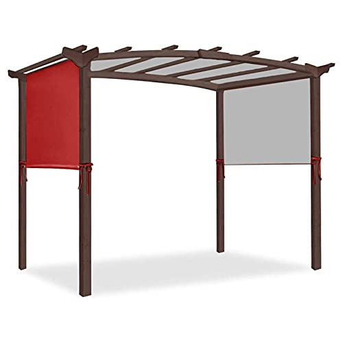 Zhantie Toldo de 5,2 x 2 m, resistente y duradero para estructuras de pérgola, solo sin estantes
