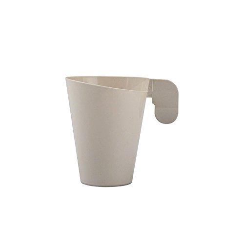 Générique 12 Tasses À CAFÉ Design Taupe 72CC