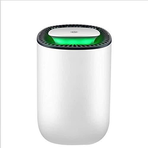 HBBOOI Deshumidificador 1000ml portátil Mini deshumidificador eléctrico Ultra silencioso del Filtro de Aire de Apagado automático deshumidificador for el hogar Cocina Garaje Armario sótano
