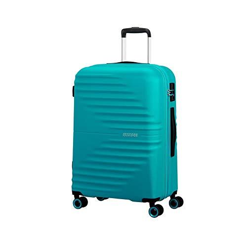 Trolley Rigido 66cm 4 Ruote Medio | American Tourister Wavetwister | MA0002-Aqua Turquoise