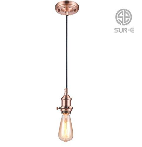 SUN-E Lámpara colgante vintage - Lámpara colgante de