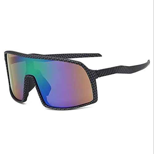 JSJE Gafas de Sol, Gafas de Ciclismo al Aire Libre para Hombres y Mujeres, Béisbol Correr Gafas de Sol de conducción de Golf, Gafas de Ciclismo de montaña Gafas de Sol Black