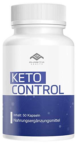 Keto Control | Stoffwechsel | schnell | für Herren und Frauen | 50 Kapseln