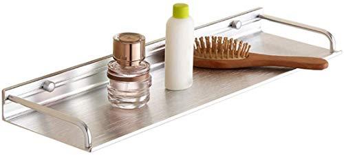 Soporte fuerte para baño de aluminio, para colgar en la pared, para colgar en la pared, incluye accesorios de baño, para cocina, balcón (tamaño: 30 cm)