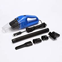 GYFXDXCQ Portable Car Vacuum Cleaner 12V DC Cable Length 5M dust Busters Cordless Rechargeable (Color : Blue)