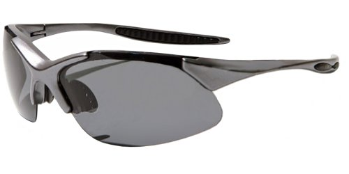 CLEARANCE!!! JiMarti JM44 Triad Polarized Sunglasses with 3 lens sets & Case (Gunmetal grey)