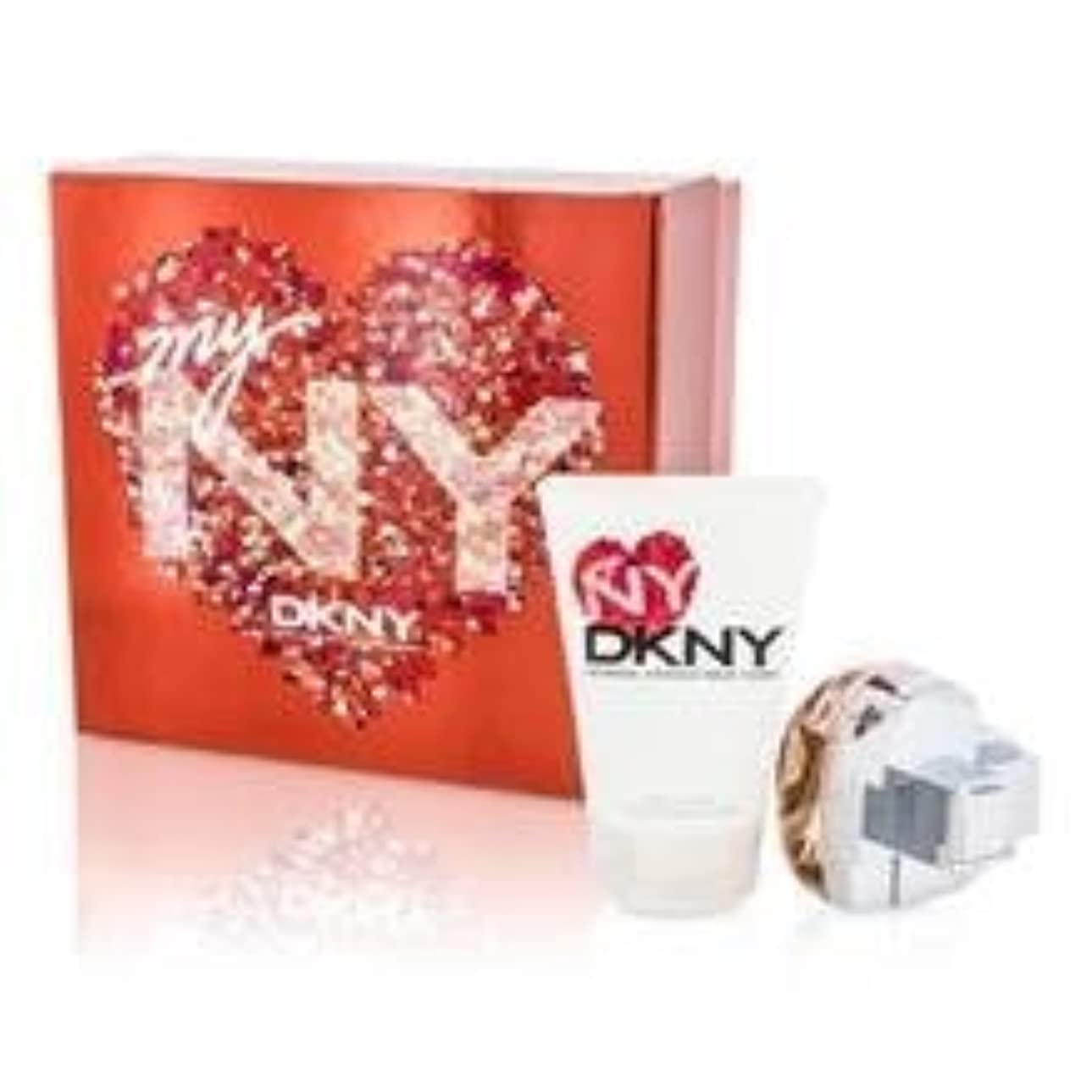 ボール頂点東方DKNY My NY The Heart Of The City Coffret: Eau De Parfum Spray 50ml/1.7oz + Body Lotion 100ml/3.4oz 2pcs並行輸入品