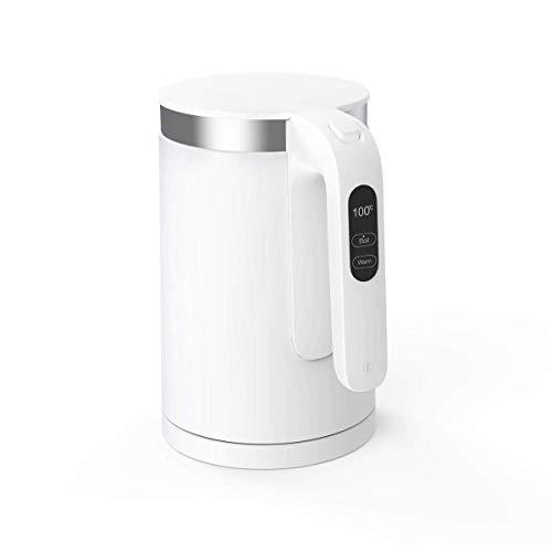 Xiaomi Mi Viomi Smart Kettle Wasserkocher mit optinaler iOS/Android App Steuerung (1,5 Liter, 1.800 Watt, Edelstahl Innenschicht, OLED-Temperaturanzeige, Schnellkoch- und Warmhaltefunktion) weiß