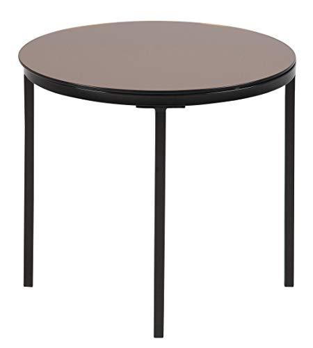 Amazon Brand - Movian Gauja - Mesa de centro, 50 x 50 x 45 cm (largo x ancho x alto), marrón