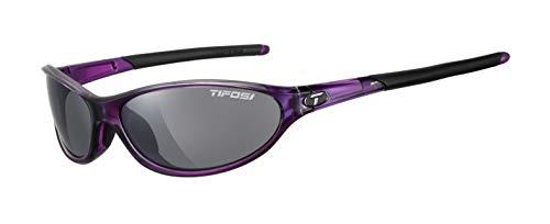 Tifosi Women's Alpe 2.0 Polarized Wrap Sunglasses, Crystal Purple, 62mm Lens Width