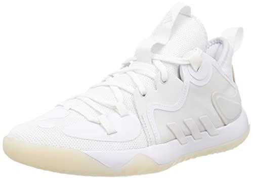 adidas Harden Stepback 2, Zapatillas de Baloncesto Unisex Adulto, FTWBLA/Balcri/BLANUB, 44 2/3 EU