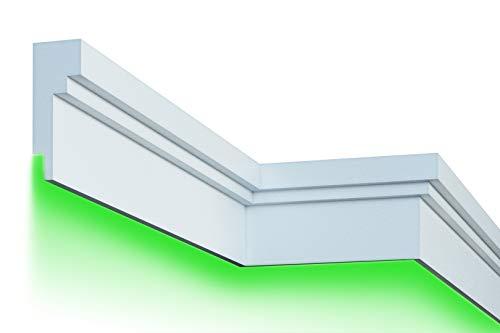 2 Meter |Fassade | LED Stuck | EPS | PU | wetterfest | 80x210mm | KC303
