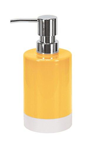 Kleine Wolke como de plástico dispensador de jabón, Amarillo, 7x 7x 16,5cm