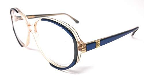 Roberto Capucci Damen Brillengestell Trasparente E Blu 56