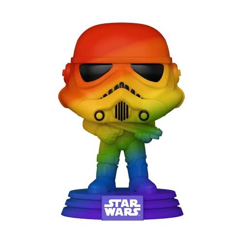 Funko 56581 POP Star Wars Pride- Stormtrooper (RNBW)