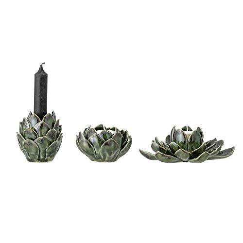 Bloomingville Teelichthalter, 3er Set, grün