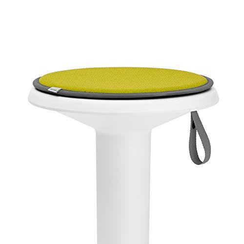 Interstuhl® UPis1 Premium Sitzkissen - Besonders bequemes Stuhlkissen perfekt geeignet für Hocker, Stühle, Bänke und Fußböden (Standard Edition, Zitronengelb)
