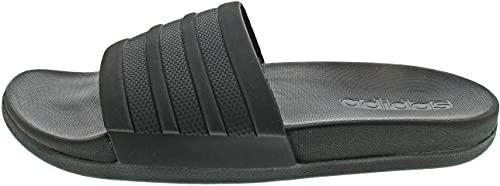 Adidas ADILETTE COMFORT Zapatos de playa y piscina Hombre, Negro (Core Black/Core Black/Core Black), 43 EU (9 UK)
