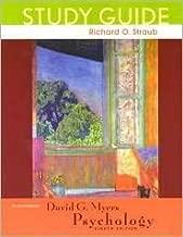 Study Guide to Acompany David G.Myers Psychology, 8th Edition
