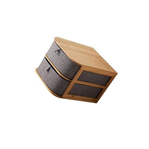 SCDZS Organizador de Escritorio Multiuso pequeño Caddy con cajones Caja de Costura Caja de Costura y Proyecto Craft Solución for su