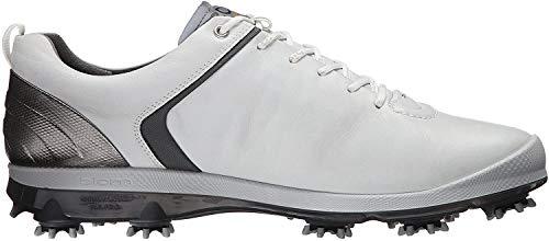 ECCO Biom G2 2016 Golf Shoes Mens White/Dark Shadow, 43 EU/9 UK