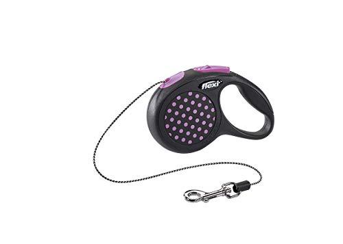 flexi Design XS Seil 3 m pink für Hunde bis 8 kg
