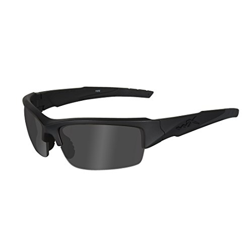 Wiley X - Gafas Protectoras WX Valor, Color Negro Mate, S/L, CHVAL01