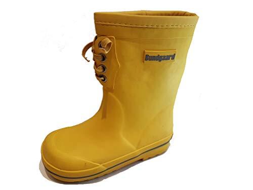 Bundgaard Rubber Boot w/warm Lining gefütterte Gummistiefel Grey (30 EU, Yellow)