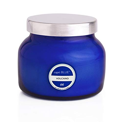 Capri Blue Petite Candle - 8 Oz - Volcano - Blue