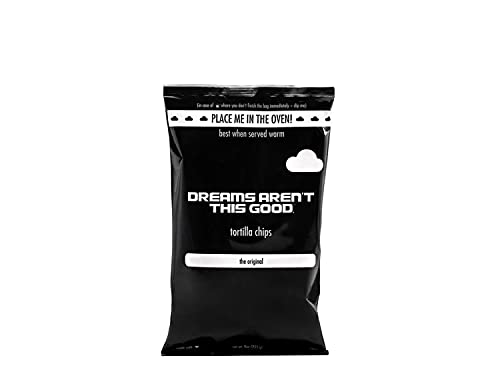 DREAMS AREN'T THIS GOOD Tortilla Chips | The Original | Gluten Free, Dairy Free, Nut Free, No Preservatives, Vegan | 9 oz Bags (6 Pack)