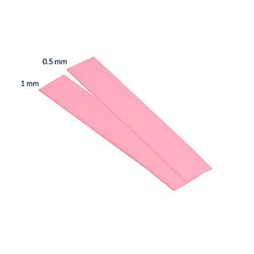 ARCTIC Thermal Pad Basic, 4er Pack (120 x 20 x 0,5 mm) - Exzellente Wärmeleitung, Idealer Gap-Filler, sehr einfache Installation, sichere Handhabung, Material: APT2012 - Pink