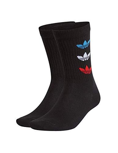 adidas GN4913 TRI THN RBD CRW Socks unisex-adult black L